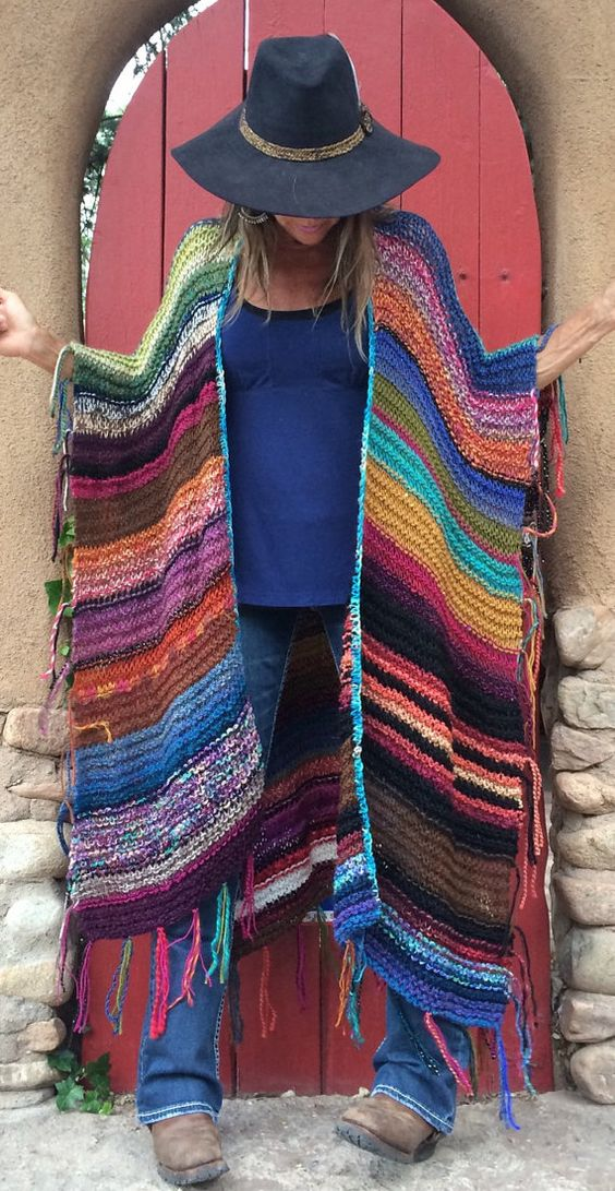 vrouwinponcho