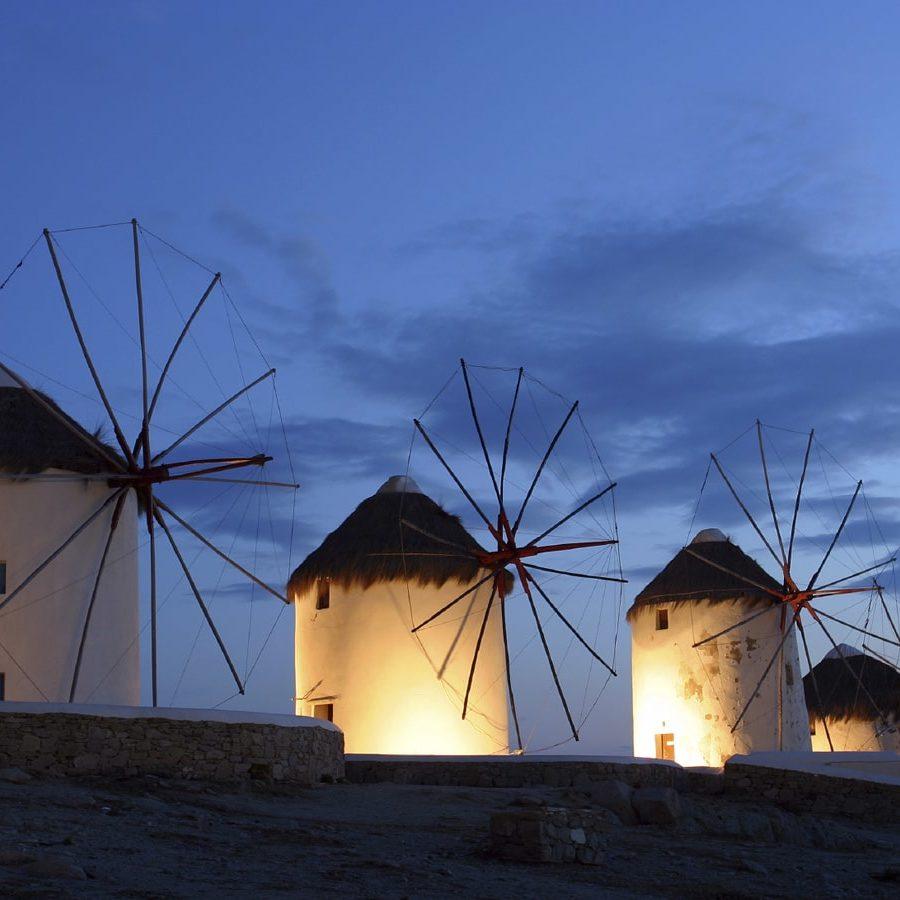 Winmill from Mykonos, Greece